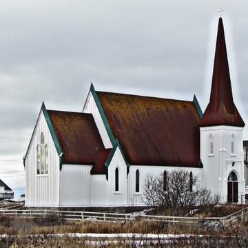 Beautiful Old Church at Peggys Cove village
