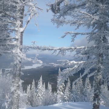 Sentier Montagne de la tour (rivière Péribonka)