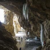 Cave skating