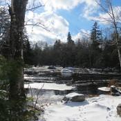 The Bear River roars