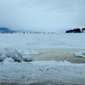 La Baie en glace...