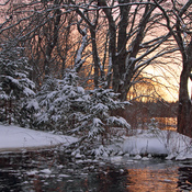 Sunrise on the Tusket River
