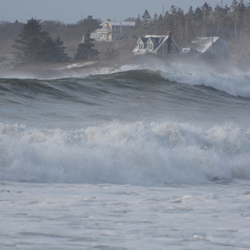 Storm Hits Lockeport Crescent Beach