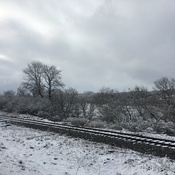 Snow and trains