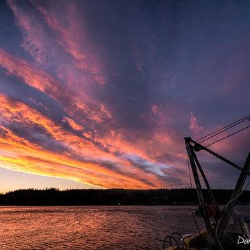 Sointula sunset
