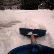 Flocons de neige ultras légers.