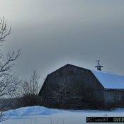 Petite neige ce matin