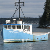 Blue Lobster Boat