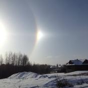Weather related Solar Phenomenon