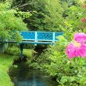 prise a un petit sanctuaire région village Blanchard, Péninsule Acadienne N.B