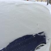 Winter hits Zurich, Ontario
