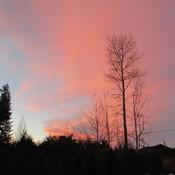 B.C. February Sunset
