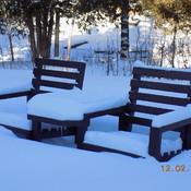 Une chaise pour deux ....