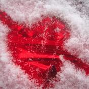 Bonne St-Valentin avec une bonne bordée de neige ici
