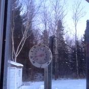Très très froid ce matin