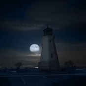 Pre Dawn Port Dalhousie Lighthouse