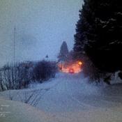Tempête soudaine de neige du 12 février 2015