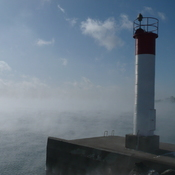 Lake Ontario steaming like a hot tub
