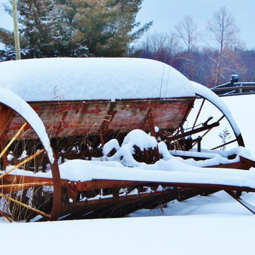 WINTER ON THE FARM.....