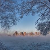 Montréal dans le froid.
