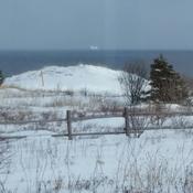 Iceberg in February.