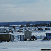 Village sur glace de Roberval