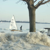 nice day for ice boats