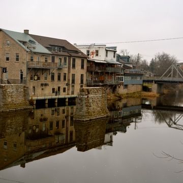 Elora on the Grand River