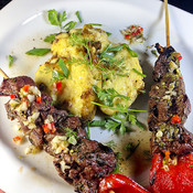 Spanish Marinated Beef Kebobs (Brochetas de Ternera)