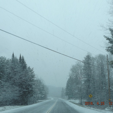 Driving Home to Petawawa, Ontario