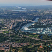 Aerial Photo of Niagara falls