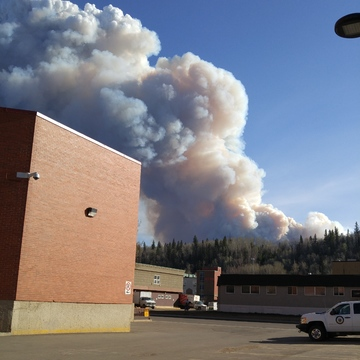 Fort McMurray Forest Fire- Abasand Area