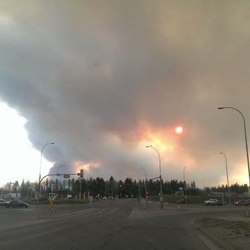 Fort Mcmurray South End Fire May 2, 2016