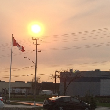 Ft.McMurray Smoke reaches Winnipeg