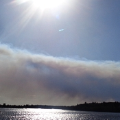 Forest Fire West of Kenora