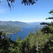 Shuswap Lake BC from Blind Bay overlook