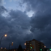 First thunderstorm in Winnipeg