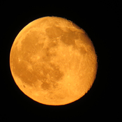 Super Orange Moon