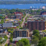 Tilt Shift Fun in Hamilton