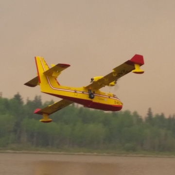 Fort McMurray water bombers