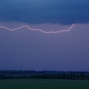 Lightning SE of Leduc, AB