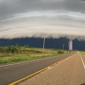 Storm near Fairlight Sask May 26 taken by Kade Fowler
