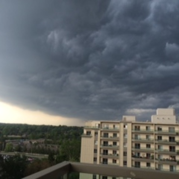 Storm in London, Ontario