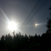 Sundog in Campbell River?