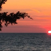 Sunset in Grand Bend, Ontario