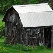 An Old Tool Shed