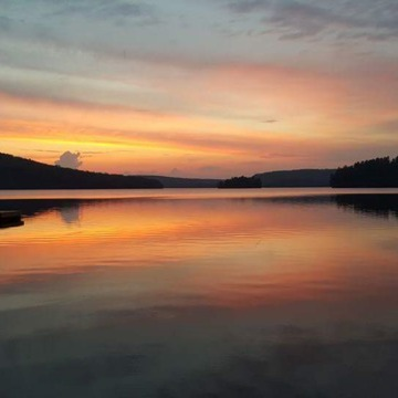 This was taken late this spring at Grace Lake in Haliburton.