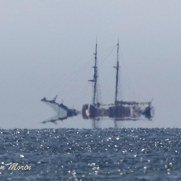 Ghost ship on Lake Ontario