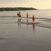 Family Vaction at Sauble Beach
