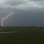 Lightning storm over Covehead Harbour, PEI